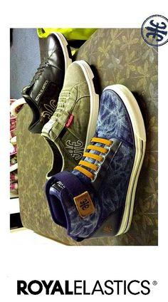 ROYAL ELASTICS Medio Jeans #sneakers #menshoes #nolaces
