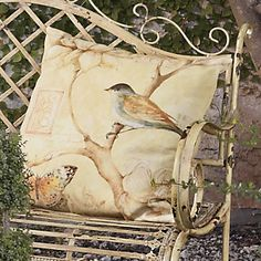 Songbird Pillow from Through the Country Door®