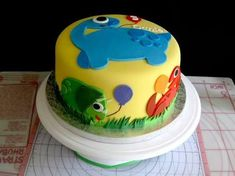 Image result for cute dinosaurs cakes