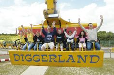 Diggerland Adventure Park - new construction-themed amusement park being built in South Jersey, opening summer 2014