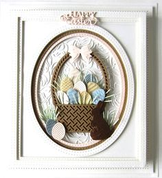 Creative Expressions Craft Die CED22007 Easter Basket