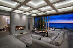 Dana Point Residence - contemporary - living room - orange county - by Lohrbach Studio