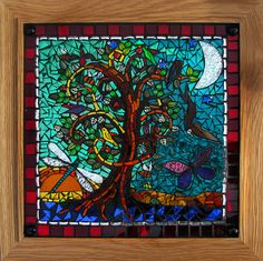 mosaic glass art | The Tree Of Life