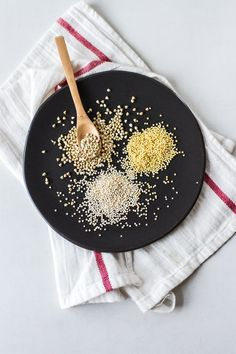 3 Grain Blend and Breakfast Porridge | edibleperspective.com