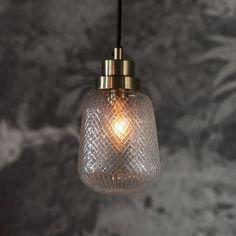 August Grove Brandon 1-Light Jar Pendant | Wayfair.co.uk Glass Pendant Light, Pendant Light Fixtures, Glass Pendants, Pendant Lighting Bedroom, Small Pendant Lights, Hallway Lighting, Swag Light, Light Bulb, Glass Molds