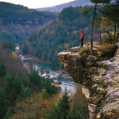 Big South Fork National Park,TN with overnight canoe trip and ohh. the blue heron! Oh The Places You'll Go, Places To Travel, Places To Visit, Camping Places, Camping Cabins, State Parks, Letchworth State Park, Image Nature, Canoe Trip