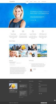 Crystalline - Ultimate Business WordPress Theme http://themeforest.net/item/crystalline-ultimate-business-wordpress-theme/4645701?ref=wpaw #web #design #cms #wordpress
