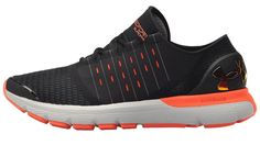 Under Armour UA Speedform Europa Men s Running Shoes Black Glacier  Gray Phoenix Fire 82fa80e98eaad