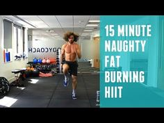 20 Minute Advanced Fat Burning HIIT Workout | The Body Coach - YouTube