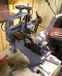 Hand powered shaper/planer