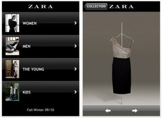 Zara, la tienda de ropa, lanza su propia aplicación | | Zara Fashion, te permite estar al pendiente de las nuevas colecciones de la tienda y por supuesto, realizar compras desde su smartphone. #app #zara #fashion #moda
