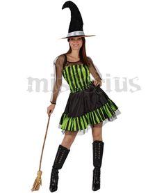 Fato Bruxa Verde