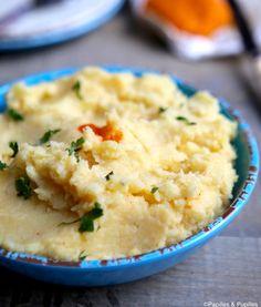 Purée de pommes de terre et céleri rave »