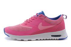 sports shoes fbf06 1bf40 Find Quality Goedkoop Dames Nike Air Max Thea Schoenen RozeBlauwWit  Korting On