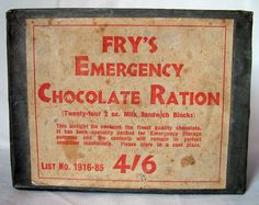 chocolate wartime - Google Search