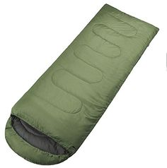 Co Camping Sleeping Bag,summer Outdoor Sleep Bag,envelope Style,army Green * Find out more about the great product at the image link.
