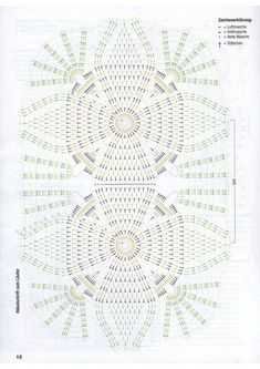 CAMINHO EM CROCHE | DIA DAS MÃES Crochet Doily Diagram, Crochet Lace Edging, Crochet Mandala, Crochet Chart, Filet Crochet, Crochet Doilies, Crochet Patterns, Crochet Granny, Crochet Bedspread