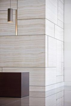 Inspiration interiors / white wood grain cabinetry / office lobby Wimpole street / by Rients Ltd Design Hotel, Lobby Design, Lobby Interior, Interior Walls, Interior Architecture, Modern Interior, Modern Furniture, Furniture Design, Hotel Interiors