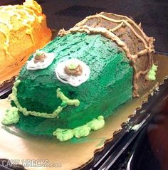 She wanted a turtle cake and this is what she got, hehehe