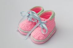 Baby Booties,Crochet Booties,Mini,Boots,Crochet Boots,Baby Shoes,Perfect Gift,New Baby,Baby Shower,Warm,Cute,Made to Order,sizes: 0-12months by namabi on Etsy