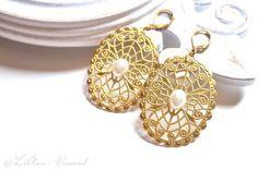 Ohrringe - ✼ Sol Oriens ✼ Ohrringe - ein Designerstück von LiAnn-Versand bei DaWanda
