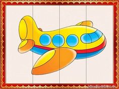 DIY PUZZLE - stologomas.gr - Λογοθεραπεία στο Γέρακα Transportation Activities, Preschool Learning Activities, Infant Activities, Writing Activities, Puzzle Crafts, Animal Puzzle, English Lessons For Kids, Puzzles For Toddlers, Worksheets For Kids