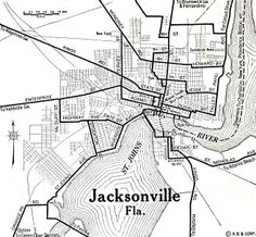 141 best JACKSONVILLE in the early days... images on Pinterest | Old ...