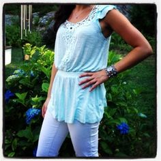 Jezzy's - great summer #shirt - delicate and bright! #fashion #style   www.jezzystyle.blogspot.com