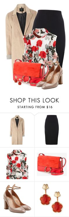 """#617"" by joanaraquelgt ❤ liked on Polyvore featuring mel, Ganni, Chloé, Valentino and Pasquale Bruni"