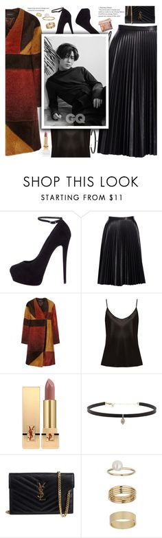"""Untitled #2058"" by anarita11 ❤ liked on Polyvore featuring Giuseppe Zanotti, Cusp by Neiman Marcus, Thakoon, La Perla, Yves Saint Laurent, Carbon & Hyde, Miss Selfridge and Urban Decay"