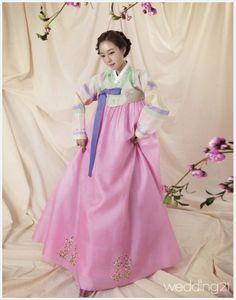 sugar lime + icing pink Hanbok