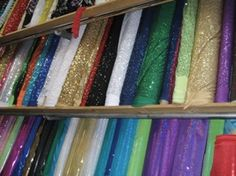 Stretch House Fabrics--for color guard clients and etc.