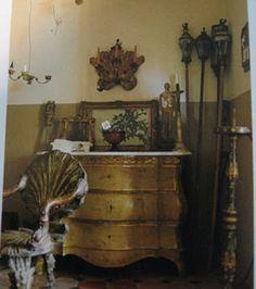 my fav Parisian antique dealers, Dominique and Pierre Bernard-Depalle.