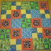 Simply Squares Baby Quilt   FaveQuilts.com