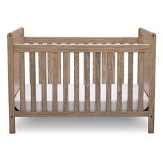 "Delta Children Chloe Crib - Rustic Whitewash - Delta Enterprise - Babies""R""Us Wooden Baby Crib, Wood Crib, Babies R Us, Delta White, Full Size Platform Bed, 4 In 1 Crib, Diy Crib, Modern Crib, Delta Children"