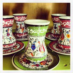 Vajillas de Turquia para tomar el té