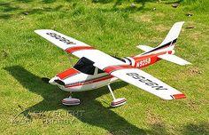(192.00$)  Buy here  - Scale Skyflight LX 1410mm Cessna RC Propeller Plane Model ARF W/ESC&Motor