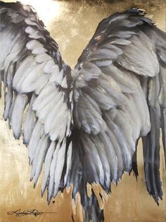 how to paint angel wings on canvas Angel Wings Painting, Angel Drawing, Angel Art, Angels Among Us, Angels And Demons, Golden Wings, I Believe In Angels, Angel Statues, Animal Tattoos