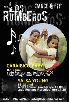 Caraibico Baby e Salsa Young - Corsi per bambini e ragazzi. Tutti i tuoi eventi…