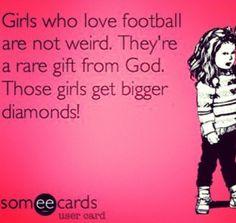 Love football!<3 I wish the diamond part was right!