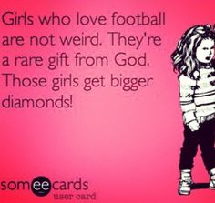 Love me some football!<3 I wish the diamond part was right!