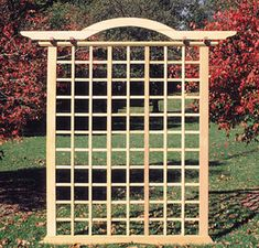 Garden Trellis. A gardening article featured by the Lifestyle directory at Resources For Attorneys, a legal and lifestyle portal.