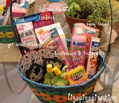Pinspiration: Candy Free Easter Baskets!