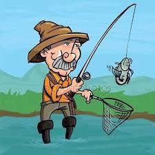 Výsledek obrázku pro rybaření kreslené