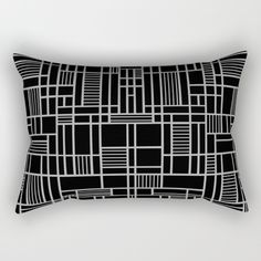 Map Lines Silver Rectangular Pillow by Project M | Society6