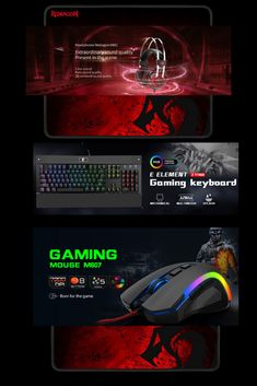 Meet the mechanical Redragon gaming gear built for the worlds top esport athletes. Athletes, Gaming, Darth Vader, Clock, Meet, Pure Products, Top, Videogames, Watch