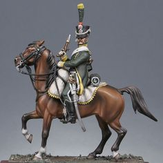 Light cavalry : Line mounted chasseurs, 4th regiment 1806