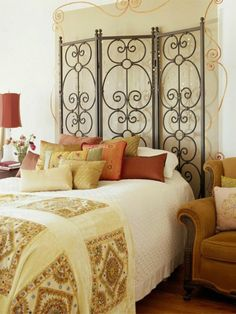 DiY bed headboard ideasModern Home Interior Design