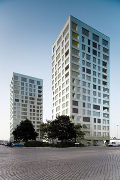 Westkaai Towers - Antwerp - belgium