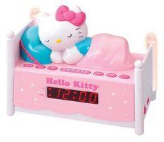 hello kitty alarm clock cute
